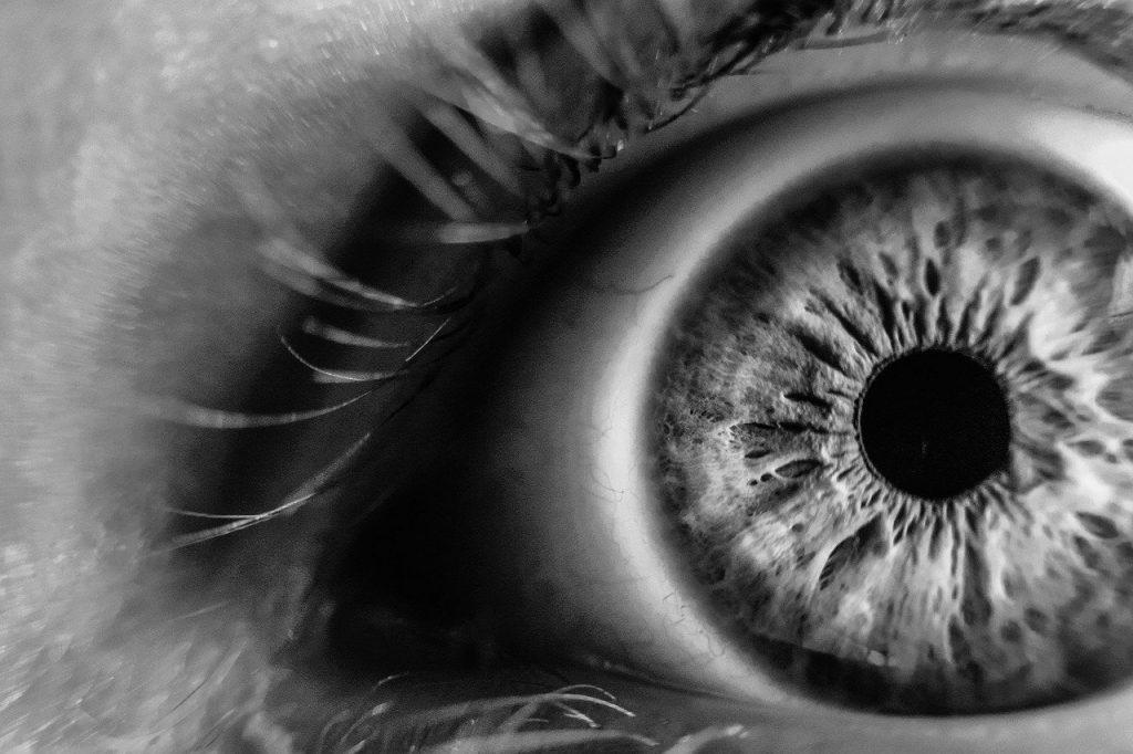 blur, close-up, eye