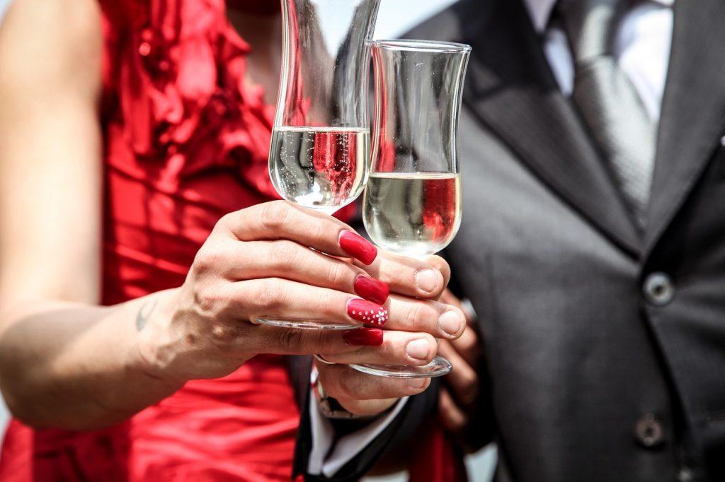 ceremony, wedding, wine