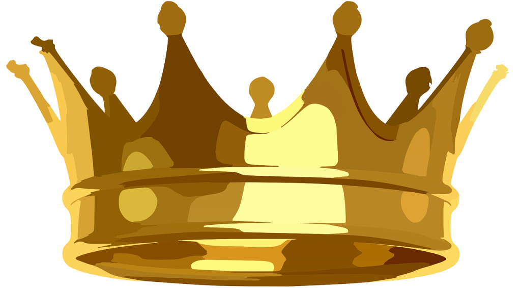 crown, golden, royal