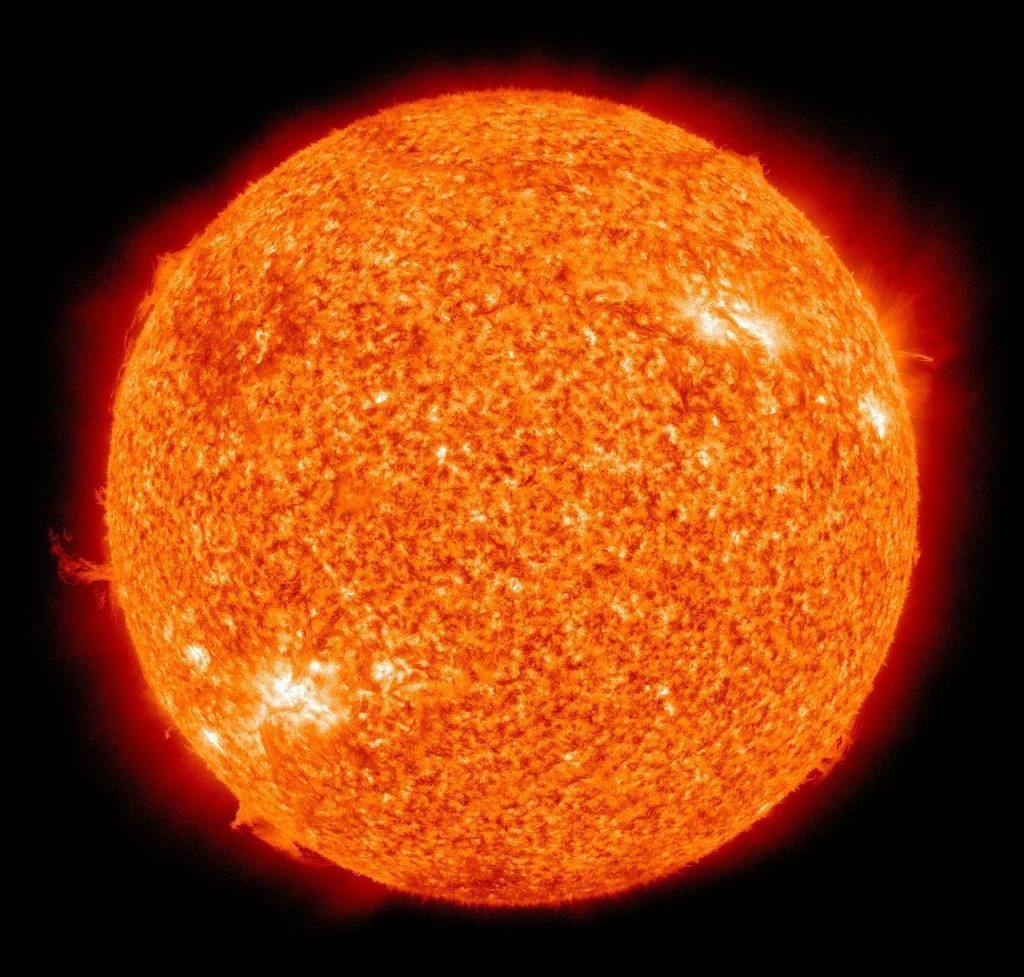 sun, fireball, solar flare