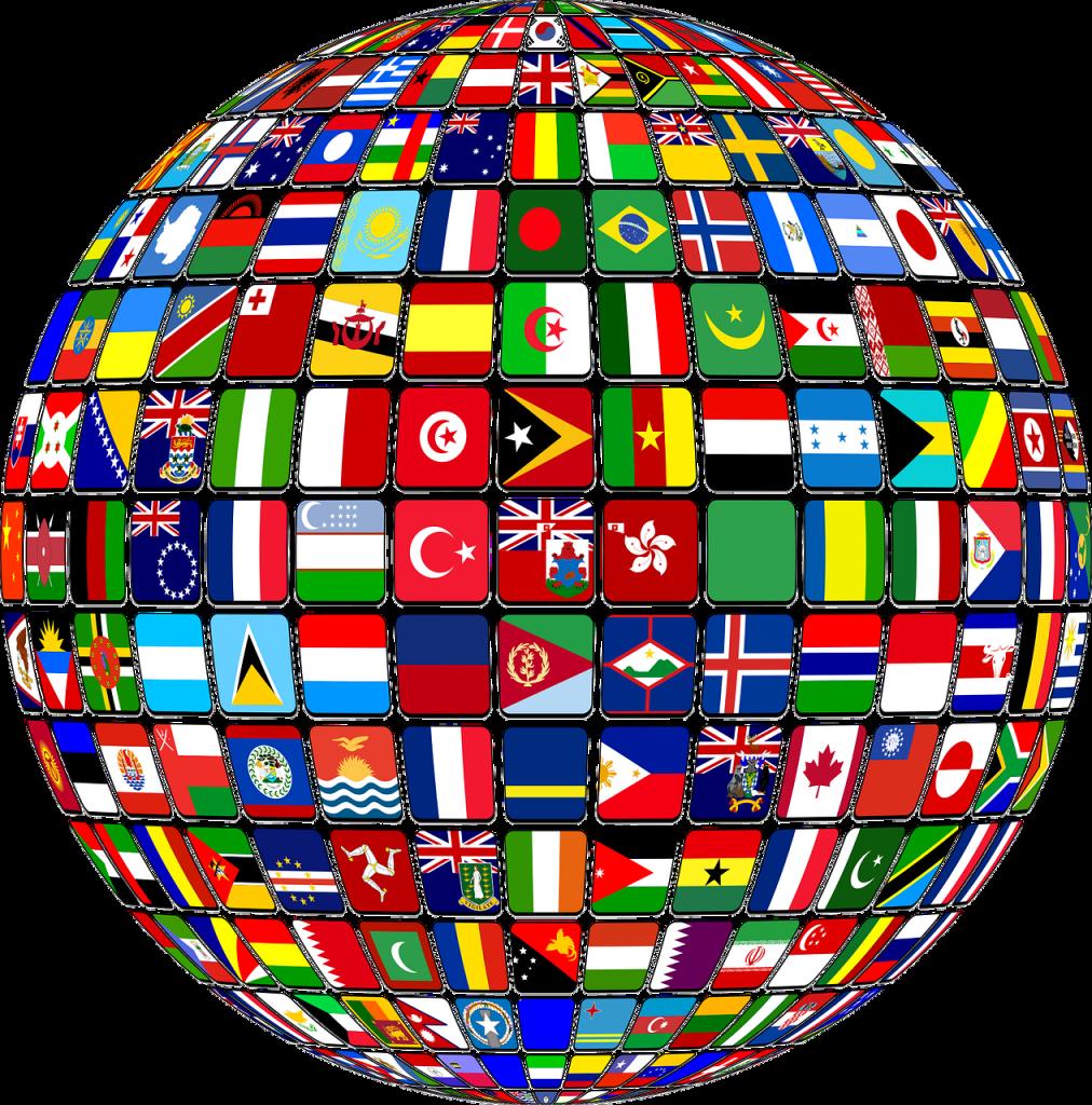 international, world, flags