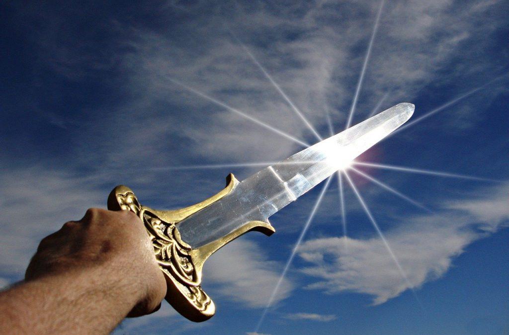 sword, victory, triumph