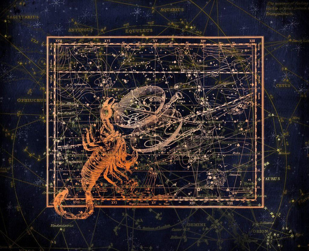 constellation, constellation map, zodiac sign