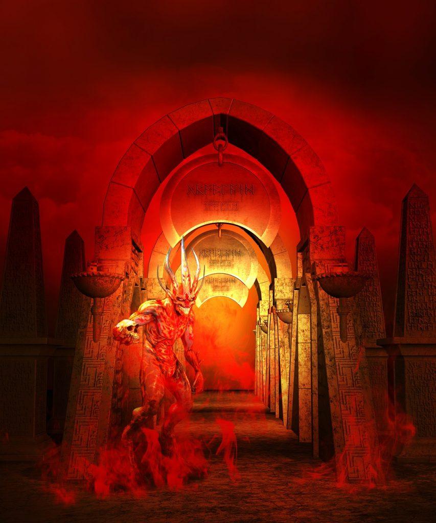 hell, demons, devil