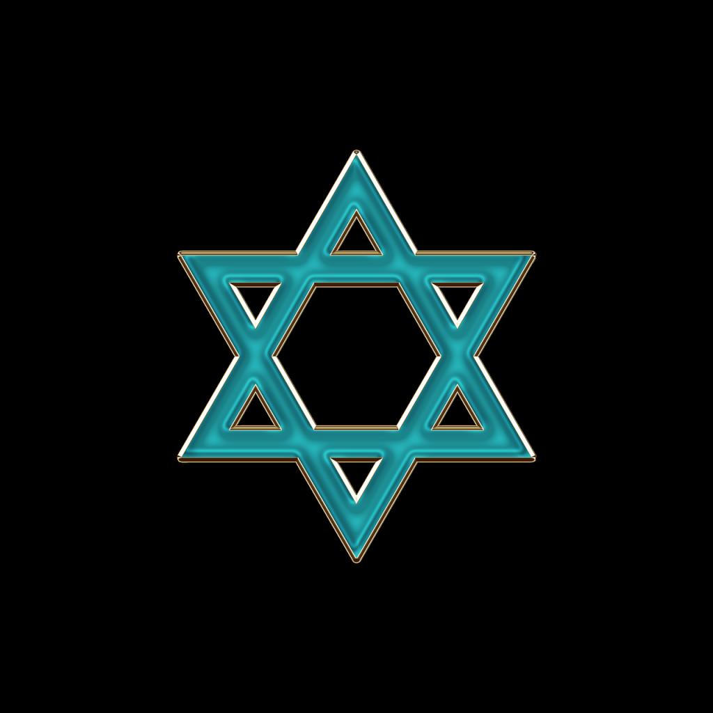 star of david, israel, jew