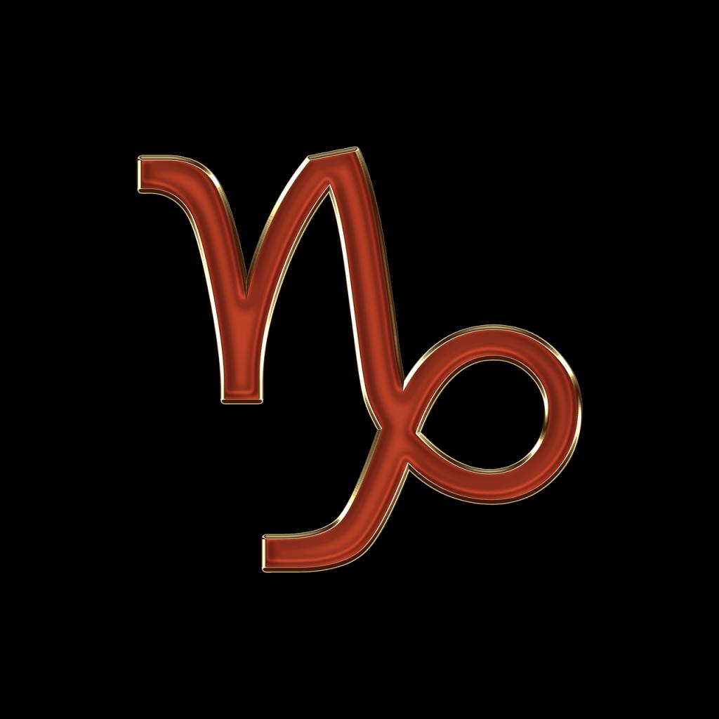 il capricorno simbolo e glifo