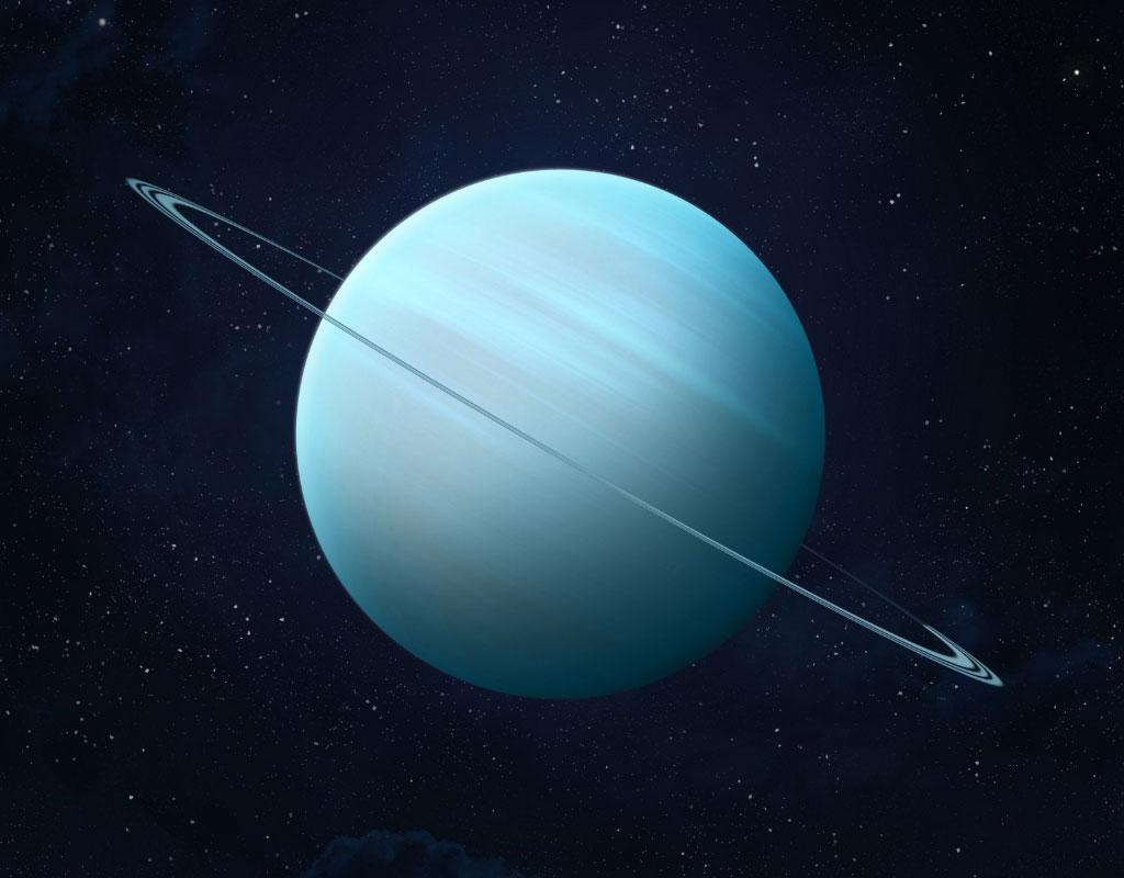 il pianeta dell'acquario Urano